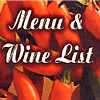Table Menus & Wine Lists