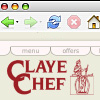 Web design sample: ClayeChef.com